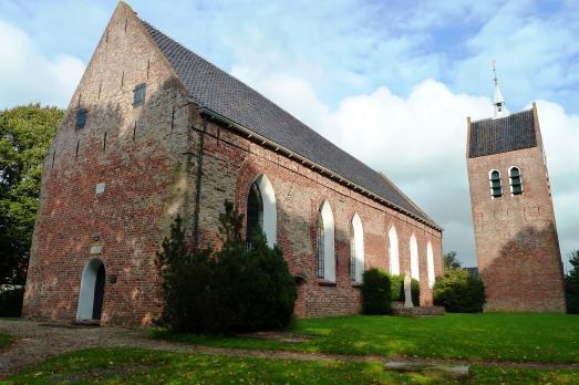 Kerk en toren, Baflo