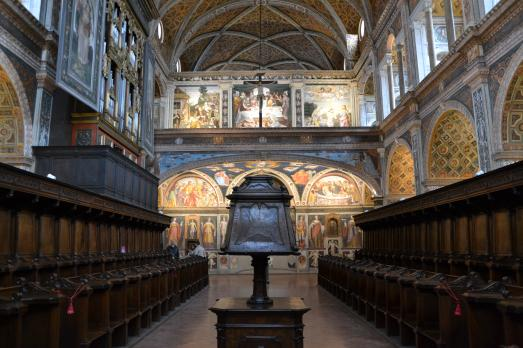 Aula delle Monache - San Maurizio al Monastero Maggiore