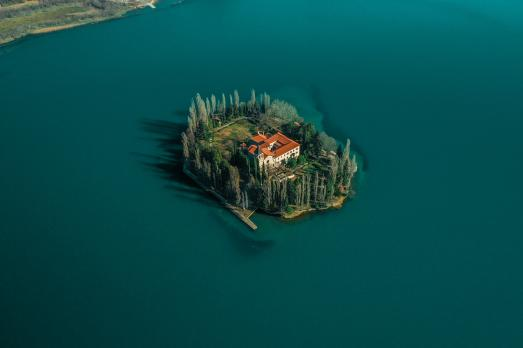 Visovac Monastery, Lake Visovac