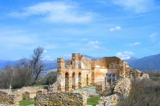 Agios Ahillios Island churches, Lake Mikri Prespa