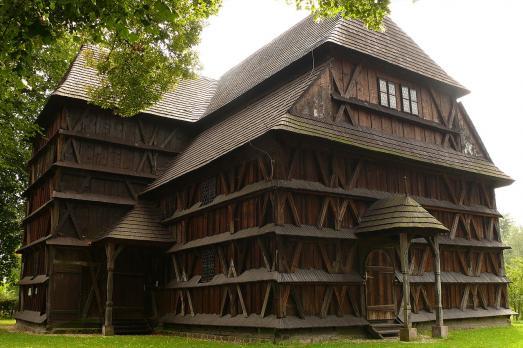 Wooden articular church of Hronsek