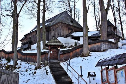 Wooden articular church of Leštiny