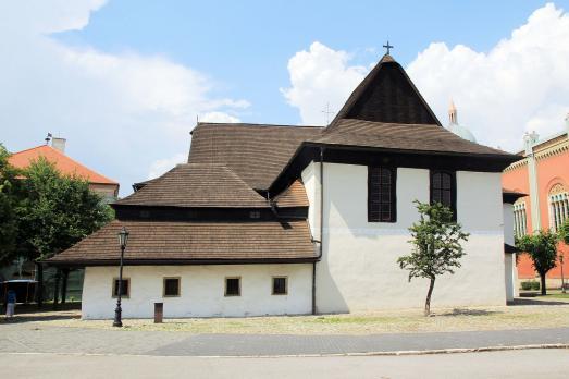 Wooden articular church in Kežmarok