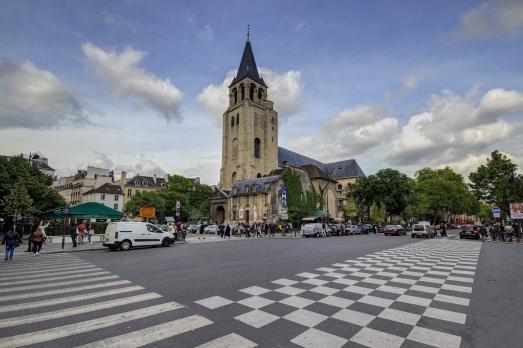 Abbaye Saint-Germain-des-Près (Église)