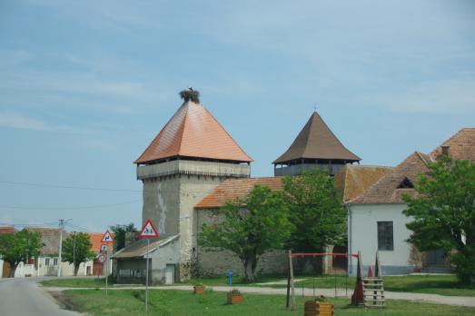 Caţa Fortified Church