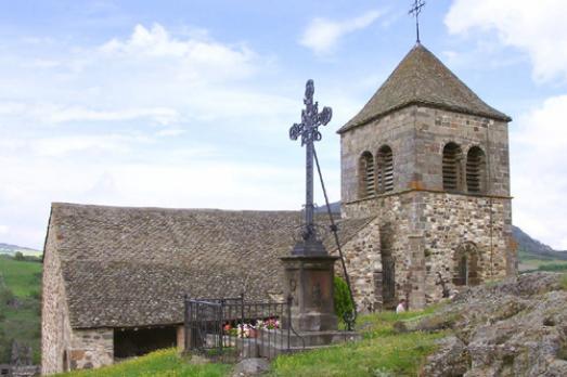Eglise du Chastel (ou église haute) de Saint-Floret