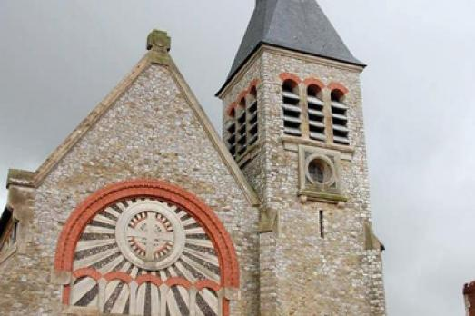 Sainte-Jeanne-d'Arc Church, Touquet