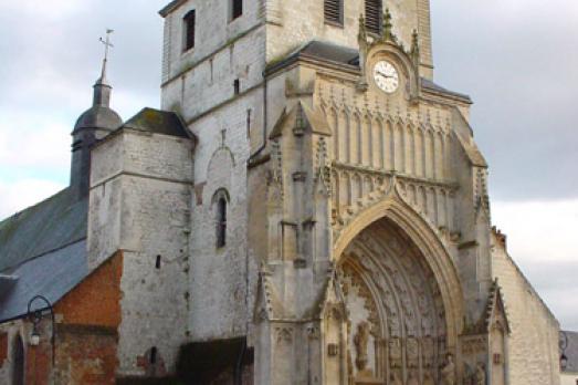 Eglise Saint-Saulve de Montreuil sur Mer