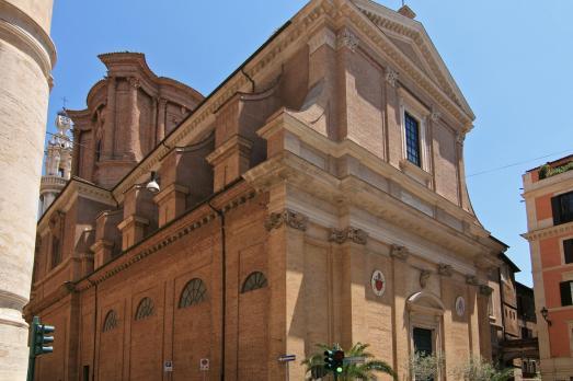 The Basilica of Sant'Andrea delle Fratte