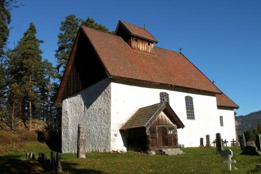 Old church of Kviteseid