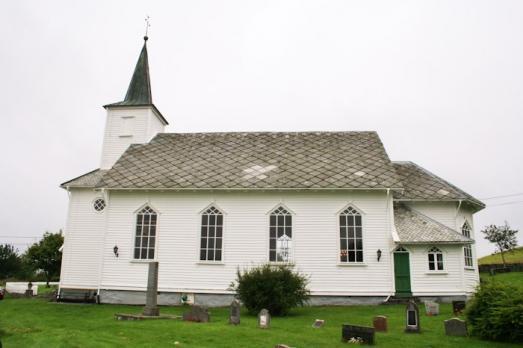 Lygra Church