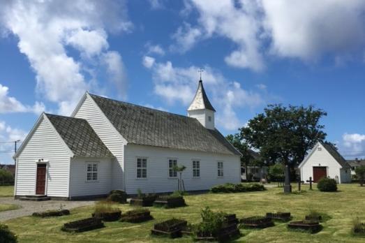 Åkra Old Church
