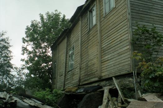 Wooden Synagogue in Laukuva