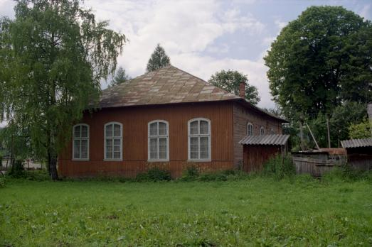 Wooden Synagogue in Skhidnytsia