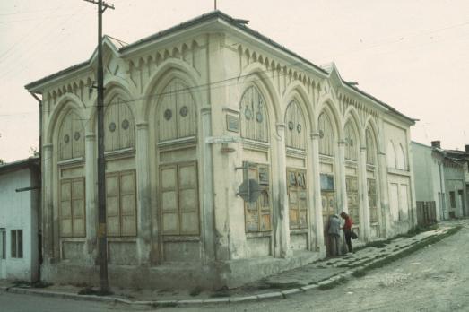 Yiddishe Shul in Botoşani