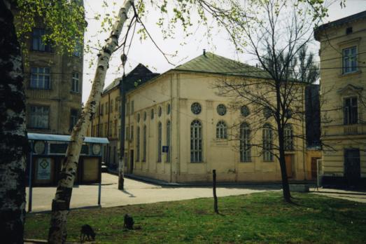 Yakob Glanzer Synagogue in Lviv