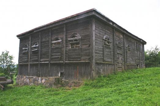 Wooden Synagogue in Alanta