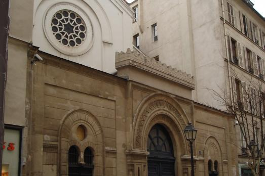 Nazareth Synagogue in Paris